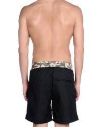 Haus By Golden Goose Deluxe Brand - Black Swimming Trunk for Men - Lyst