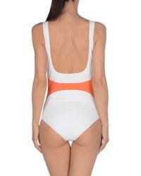 ROKSANDA - Blue One-piece Swimsuit - Lyst