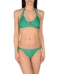 Hervé Léger | Green Bikini | Lyst