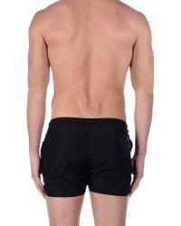 Neil Barrett - Black Swim Trunks for Men - Lyst