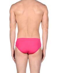 Tommy Hilfiger - Pink Swim Brief for Men - Lyst