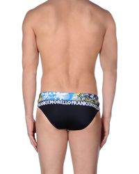 Frankie Morello Black Swim Brief for men