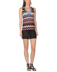 Missoni | Blue Beach Dress | Lyst