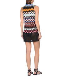 Missoni - Blue Beach Dress - Lyst