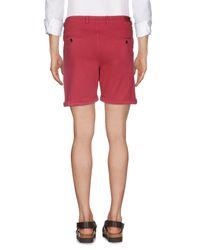 Shorts di Fendi in Red da Uomo