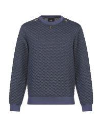 Class Roberto Cavalli Blue Sweatshirt for men