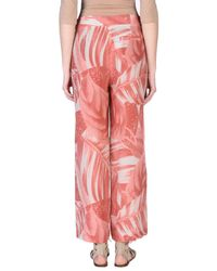 Ivories Pink Casual Trouser