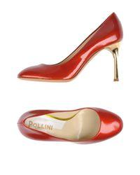 Pollini Red Pump