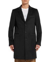 Cappotto di PS by Paul Smith in Black da Uomo