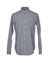 Chemise Roda pour homme en coloris Gray