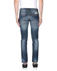 Paolo Pecora Blue Denim Trousers for men
