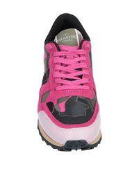 Valentino Garavani Pink Low-tops & Sneakers