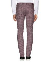 Pantalone di Yan Simmon in Purple da Uomo