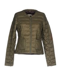 Gas Green Down Jacket