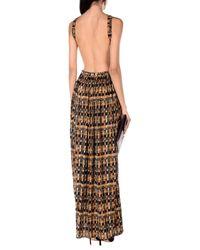 Céline Brown Long Dress
