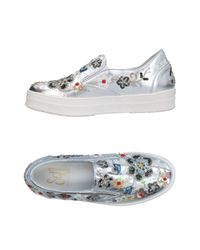 Sgn Giancarlo Paoli Metallic Low-tops & Sneakers