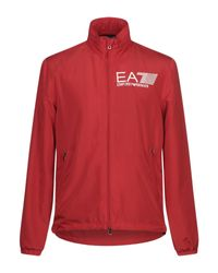 EA7 Jacke in Red für Herren