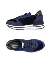 Primabase Blue Low-tops & Sneakers