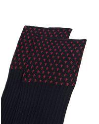 Gallo - Black Short Socks for Men - Lyst