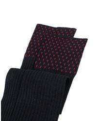Gallo | Black Short Socks for Men | Lyst