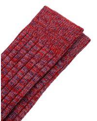 DSquared² Red Socks for men