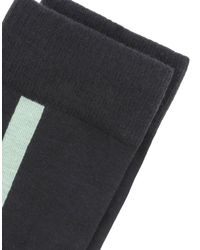 Y-3 - Black Short Socks for Men - Lyst