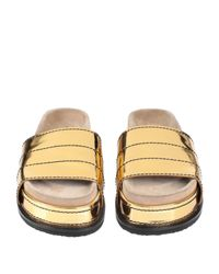 Proenza Schouler Metallic Sandale