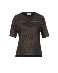 Drumohr - Black T-shirt - Lyst