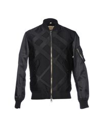 Burberry - Black Jacket - Lyst