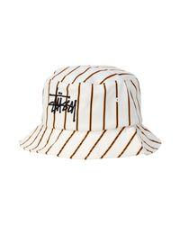 Chapeau Stussy pour homme en coloris White