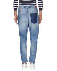 Berna Blue Denim Pants for men