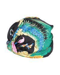 Sombrero Versace de color Black
