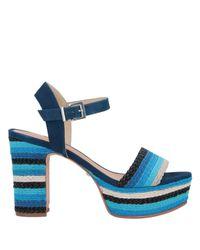 Schutz Blue Sandale
