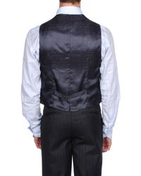 Alessandro Dell'acqua Blue Vest for men