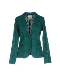 Ottod'Ame - Green Blazer - Lyst