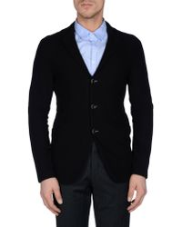 Armani - Black Blazer for Men - Lyst