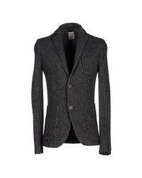 Obvious Basic - Gray Blazer for Men - Lyst