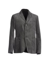 Aspesi - Gray Blazer for Men - Lyst
