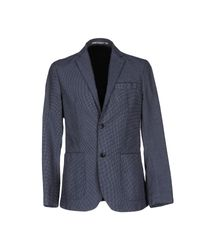 AT.P.CO - Blue Blazer for Men - Lyst
