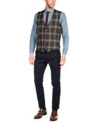Lardini - Gray Waistcoat for Men - Lyst