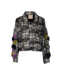 Erika Cavallini Semi Couture - Black Jacket - Lyst