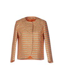 RED Valentino Orange Blazer
