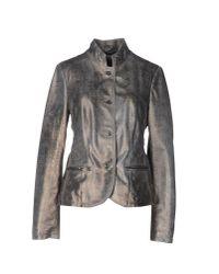 Vintage De Luxe Gray Blazer