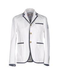 Moncler Gamme Bleu White Blazer for men