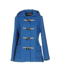 Gloverall Blue Coat