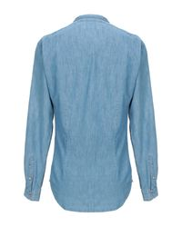 Camicia jeans di Officina 36 in Blue da Uomo