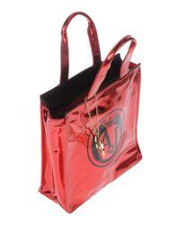 Armani Jeans Red Handbag