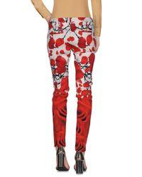 Pantalone di Philipp Plein in Red
