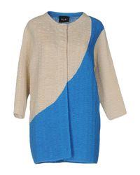 Neera Blue Overcoat