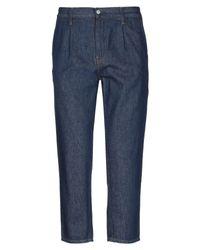 Pantaloni jeans di Carhartt in Blue da Uomo